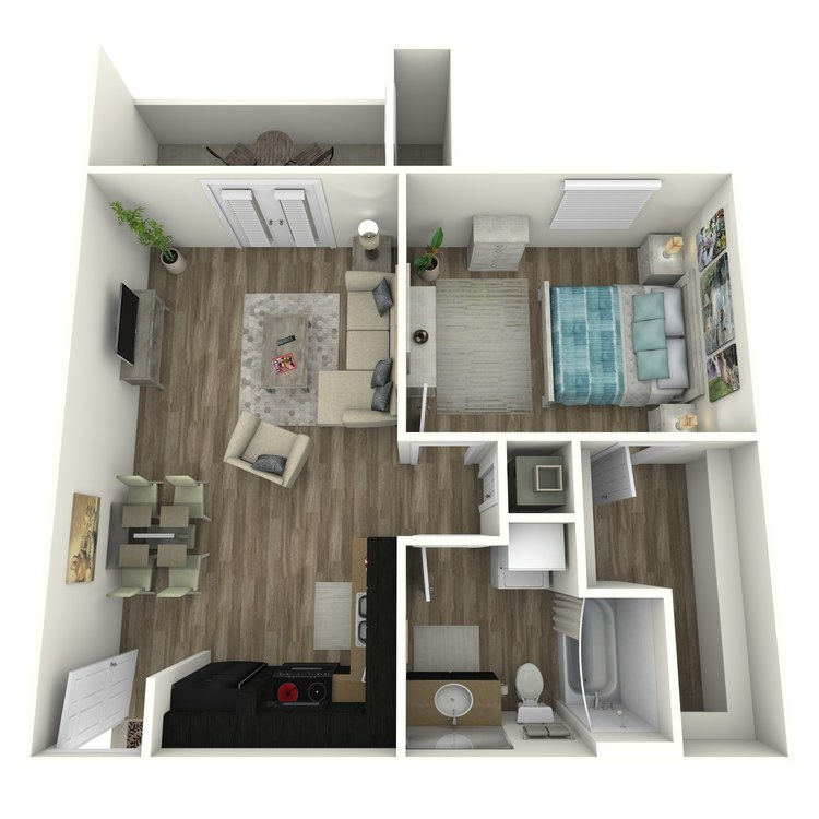 Floor plan image of 1-A1