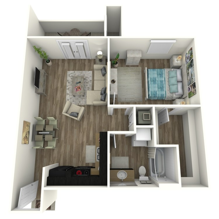 Floor plan image of 1-A2