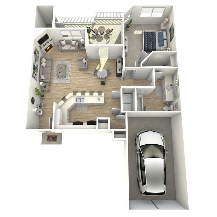Floor plan image of Villa