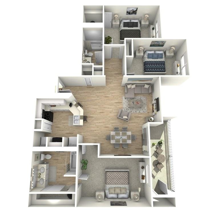 Floor plan image of Homestead