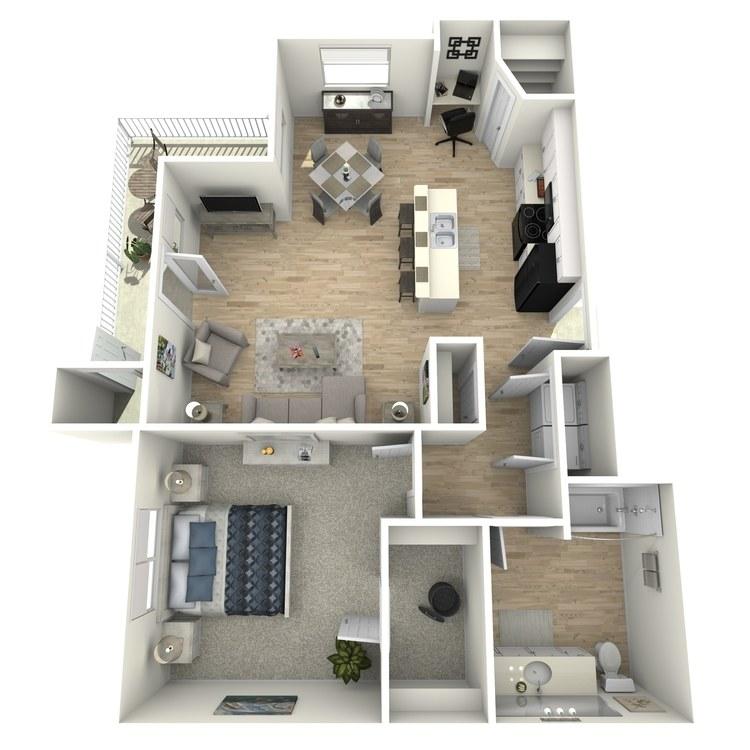 Floor plan image of Rustic