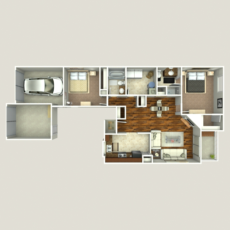 Floor plan image of Chestnut