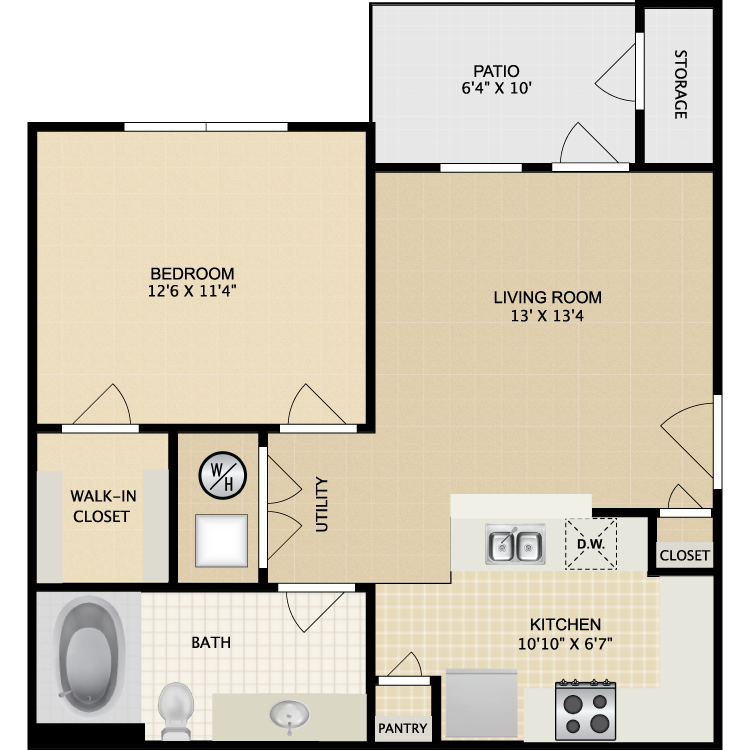Brownstone Apartment Homes Availability Floor Plans Pricing – Brownstone Floor Plans