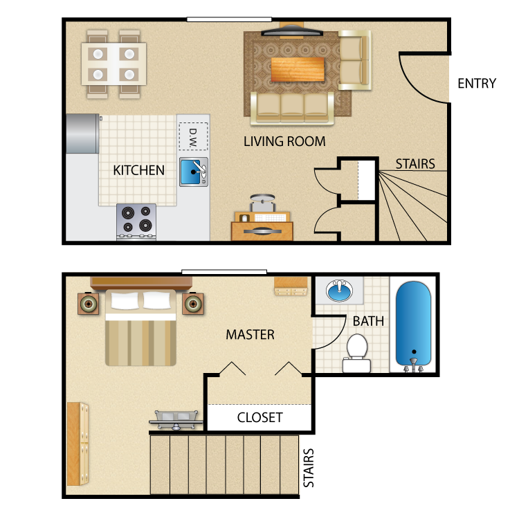 Orchid floor plan image