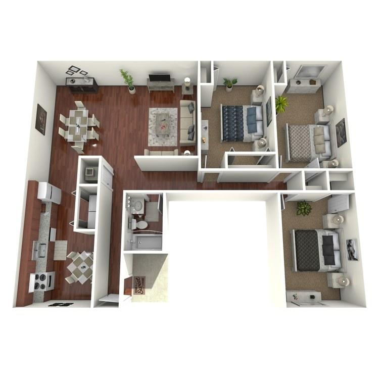 Floor plan image of Petunia