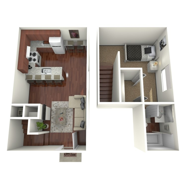 Floor plan image of Orchid