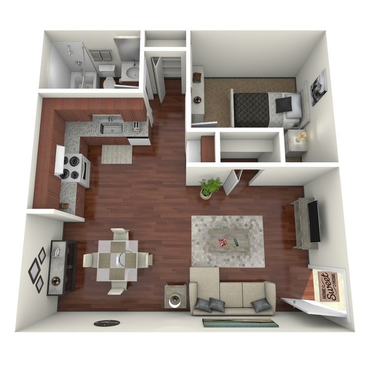 Lilly floor plan image