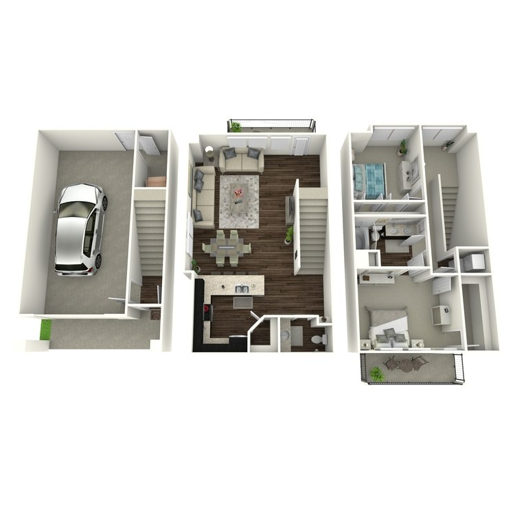 Floor plan image of B6a