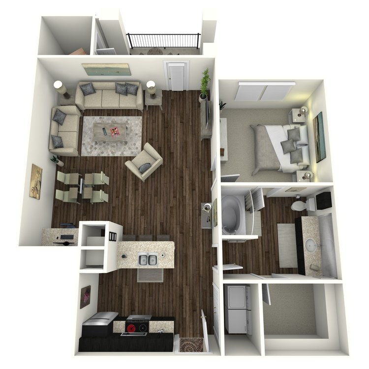 Floor plan image of A8