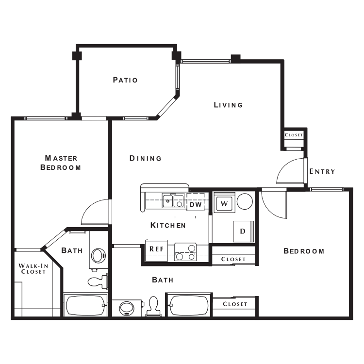 Floor plan image of Belmont