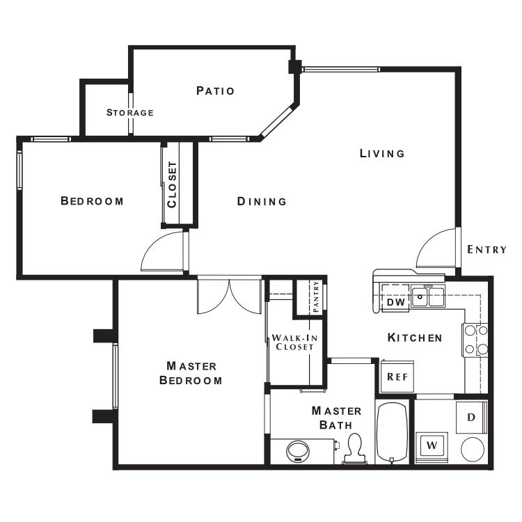 Floor plan image of Canterbury