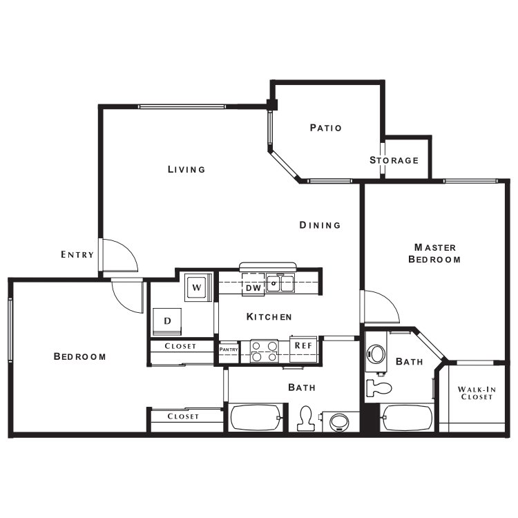 Floor plan image of Churchill