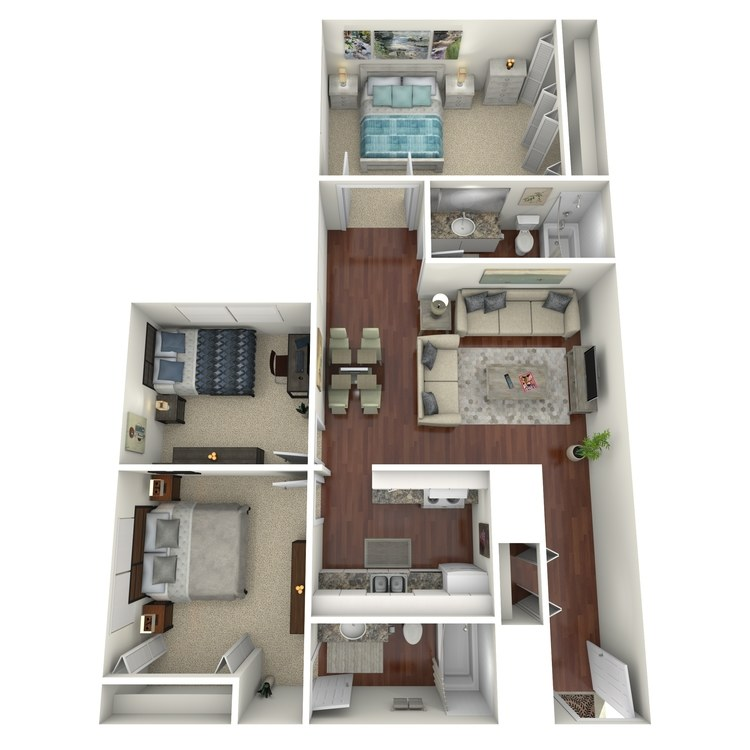 Floor plan image of C2