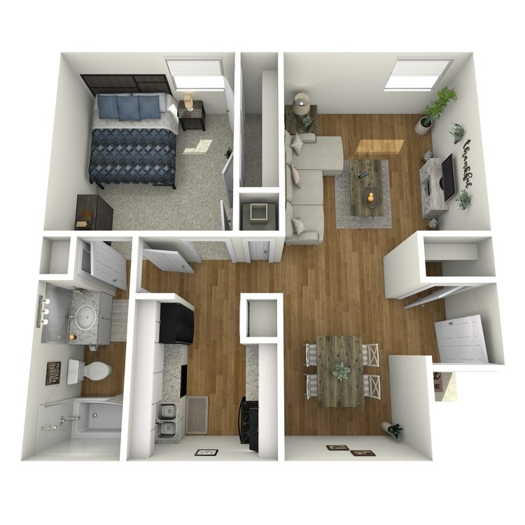 Floor plan image of Ash