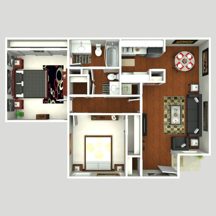 Floor plan image of Strait