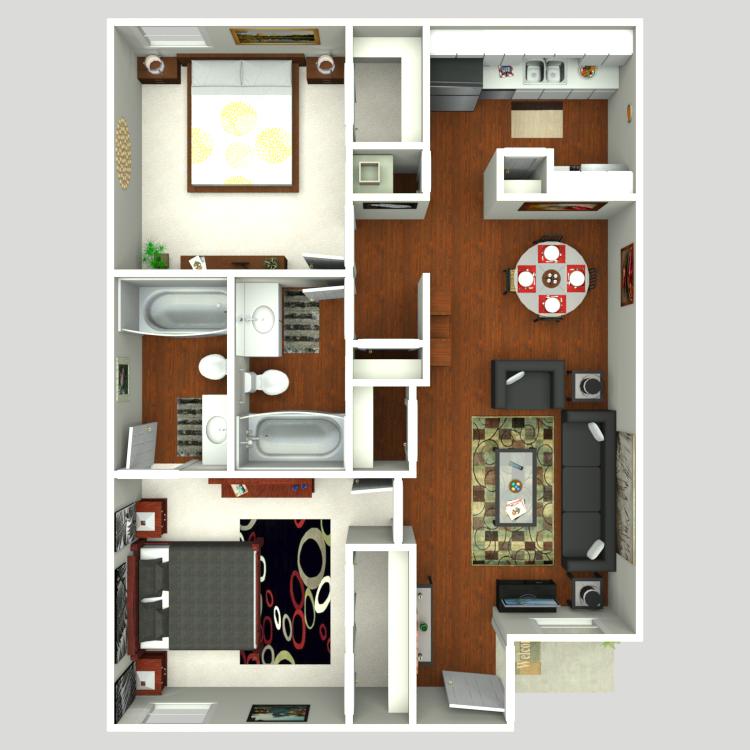 Floor plan image of Trent