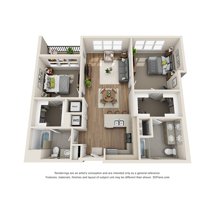 Floor plan image of 2D