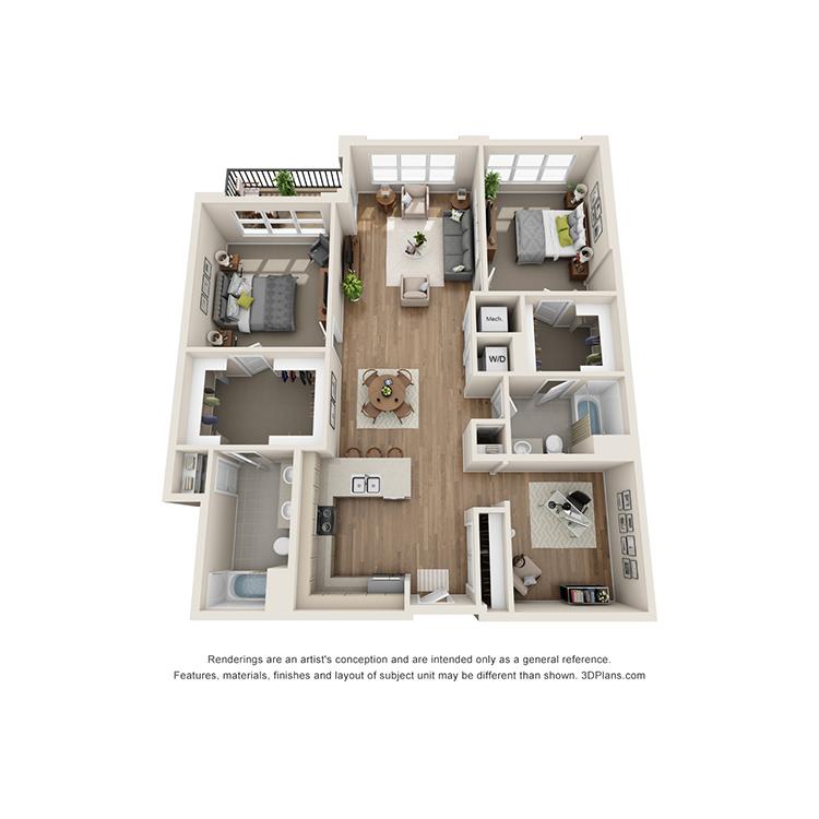 Floor plan image of 2F