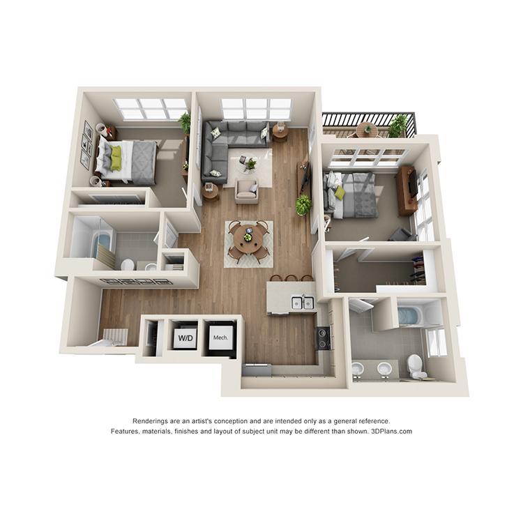 Floor plan image of 2G