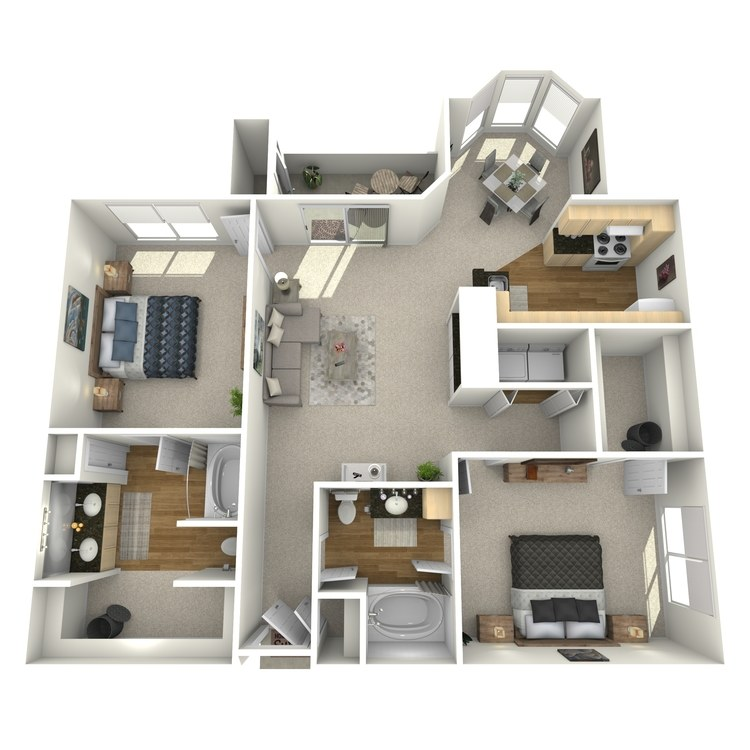 Floor plan image of Plan F