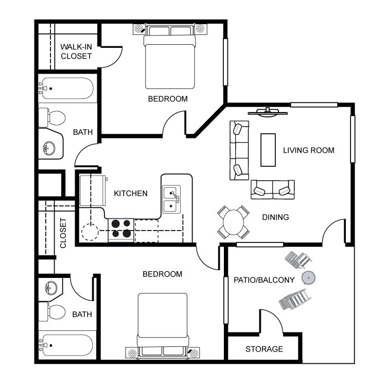 Floor plan image of Sycamore