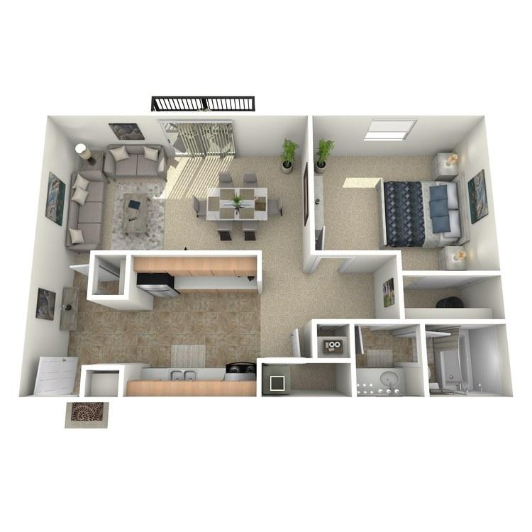 Floor plan image of The Zinfandel