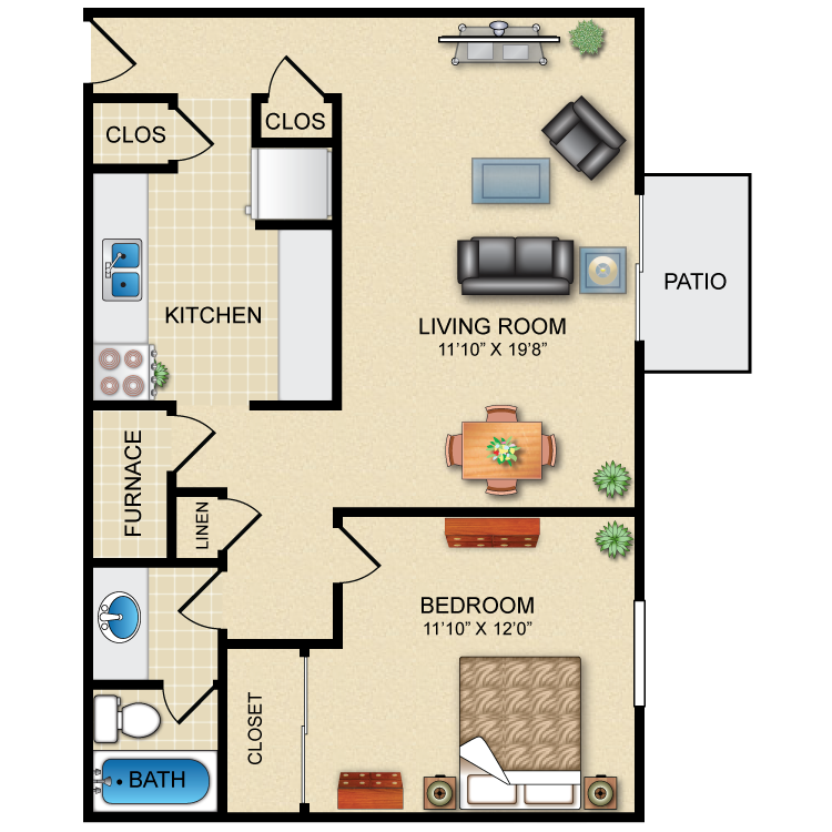 Floor plan image of The Zinfandel
