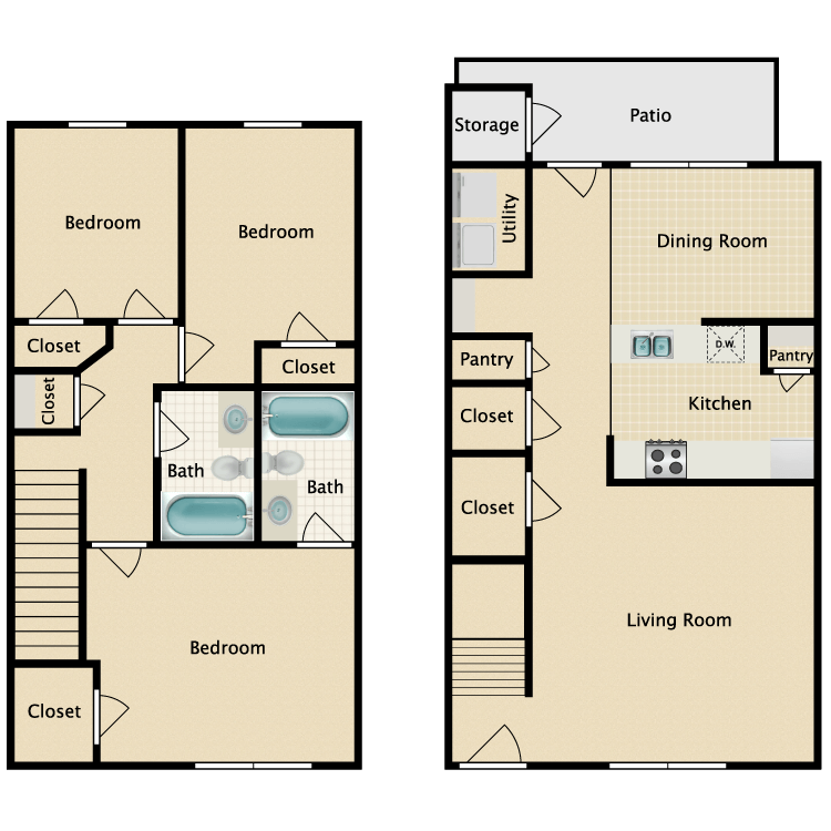 3/2 floor plan image