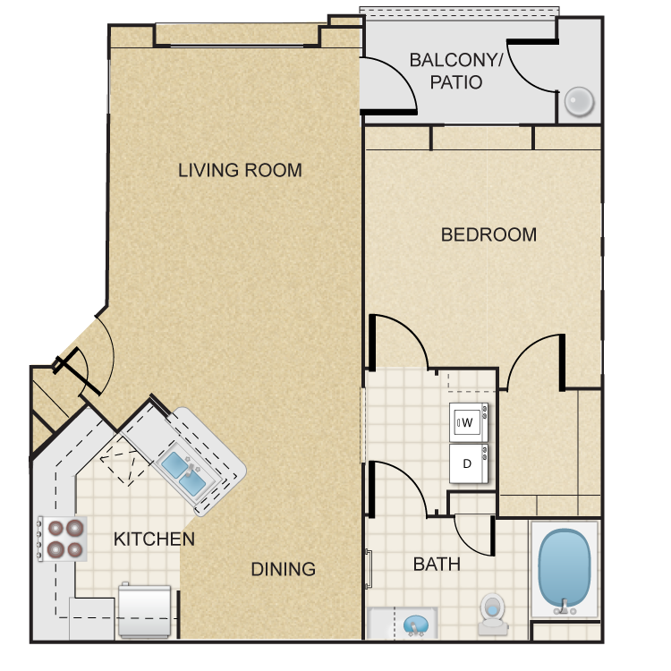 The Paramount Apartments Availability Floor Plans Pricing - Las vegas floor plans