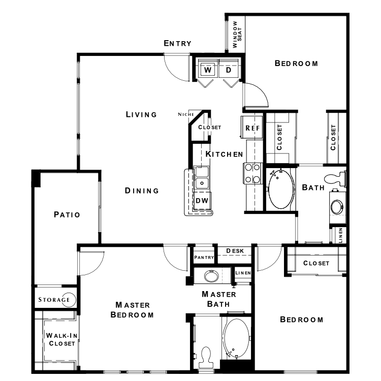 Floor plan image of The Elite