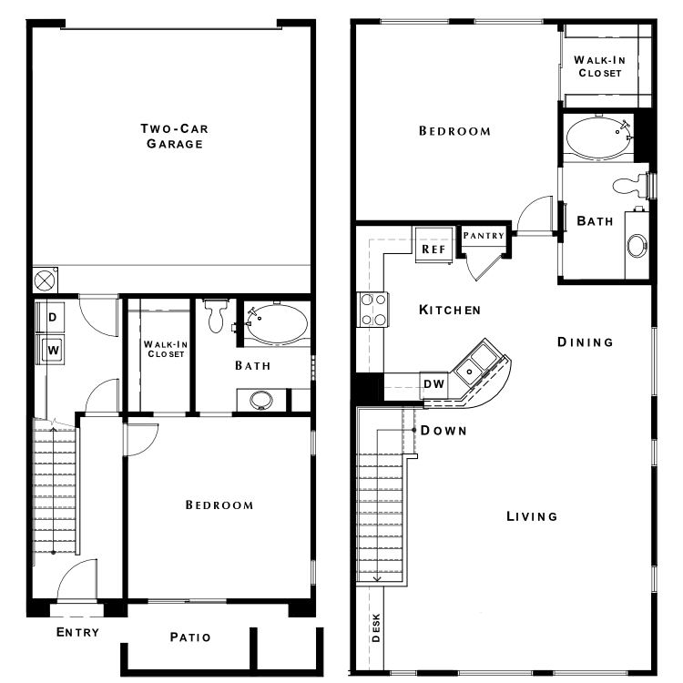 Floor plan image of The Escape