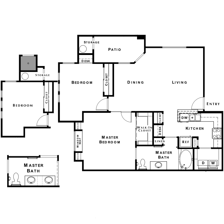 Floor plan image of The Retreat