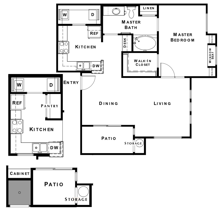 Floor plan image of The Sanctuary