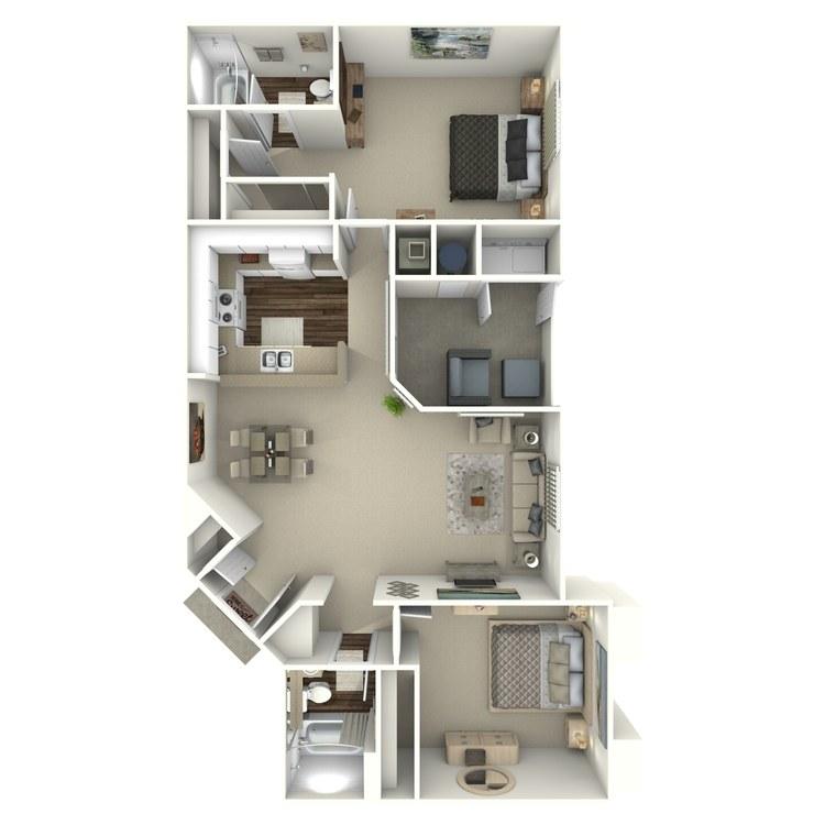 Plan D floor plan image