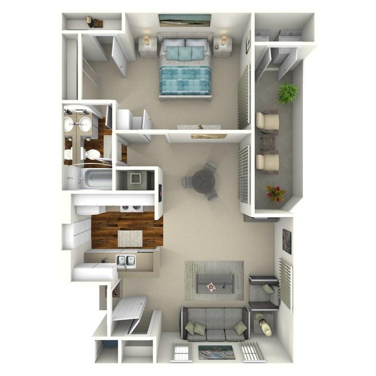 Wood Canyon Villa Apartment Homes - Availability, Floor ... on gardening with apartment, home with apartment, building plans with apartment, house plans 1 bedroom apartment,