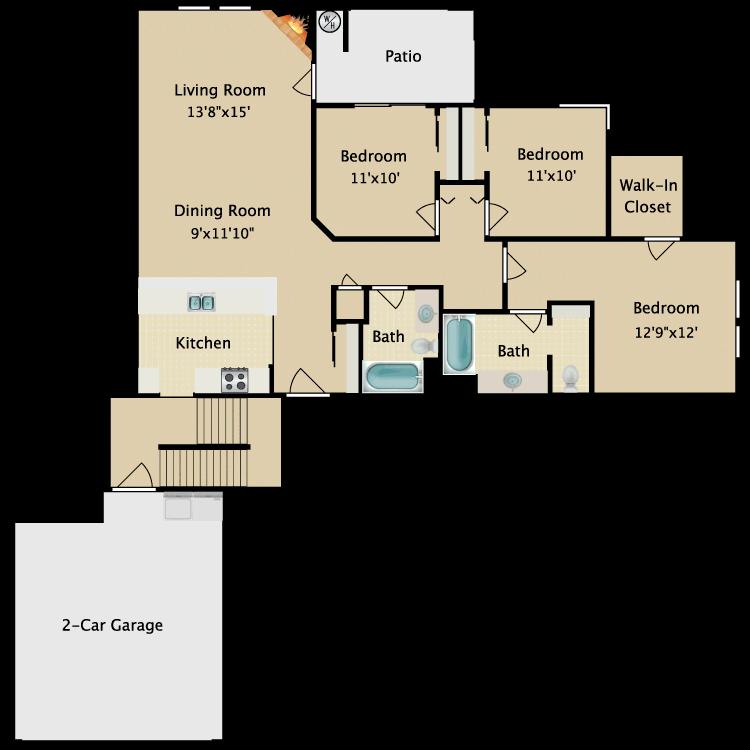 Floor plan image of Flat VI