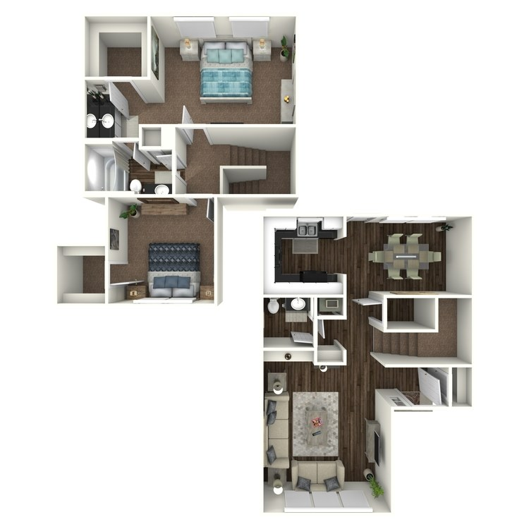 Floor plan image of B9- Townhome