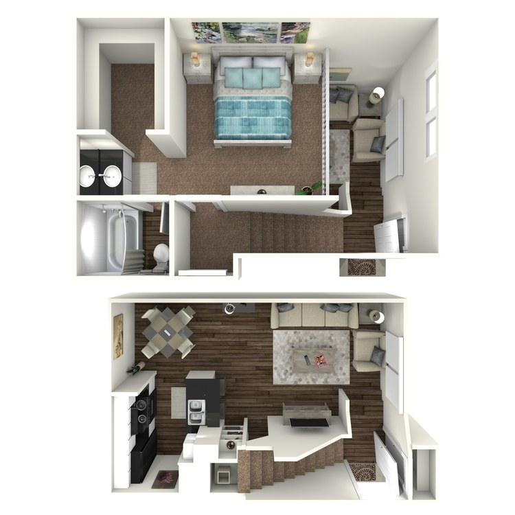 Floor plan image of A1- Loft