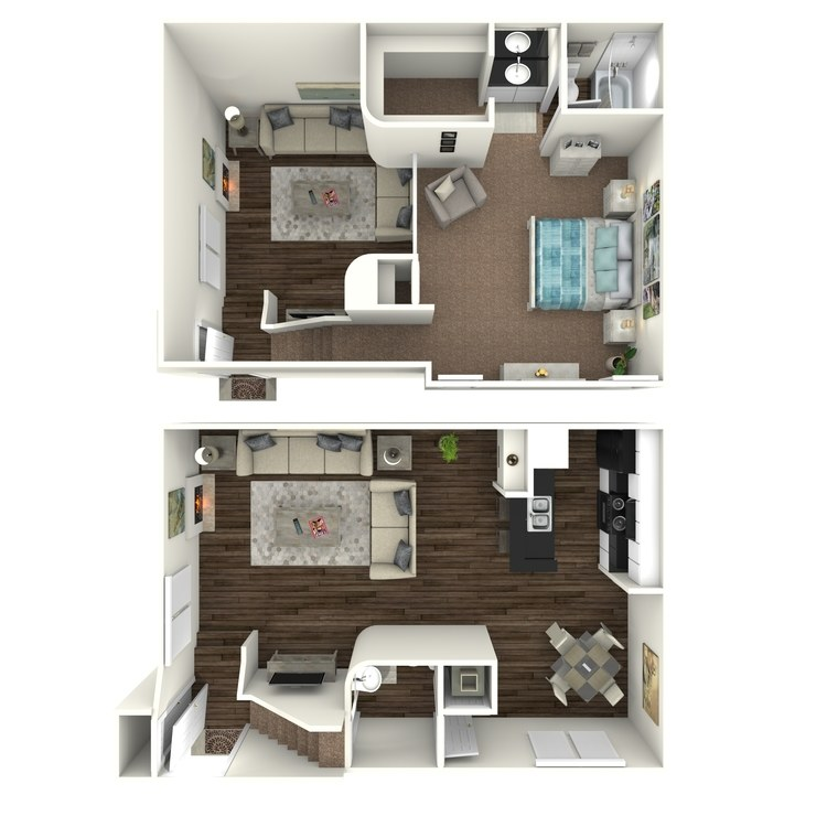 Floor plan image of A9- Loft