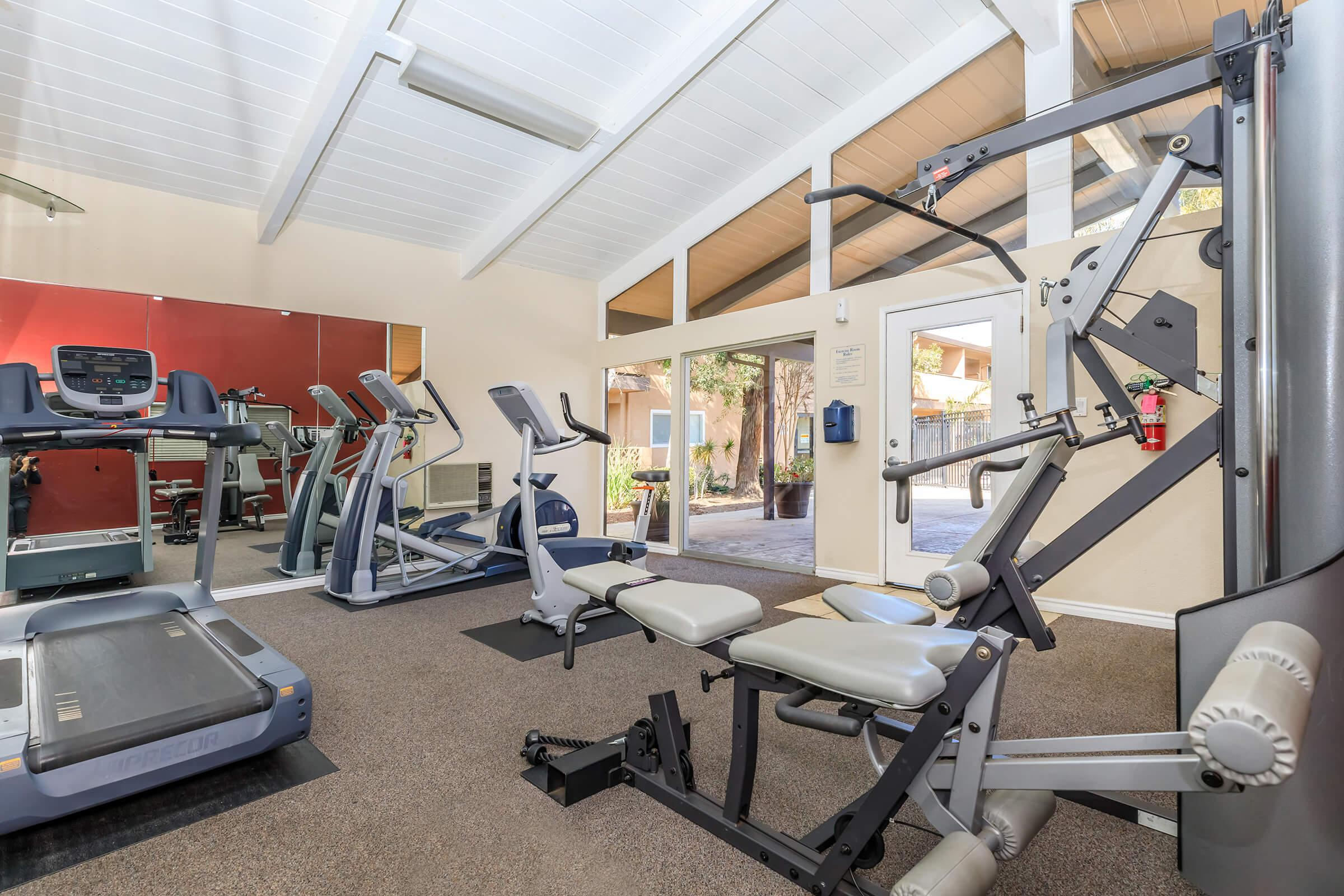 Fitness Center at Ladera Woodsin Fremont CA
