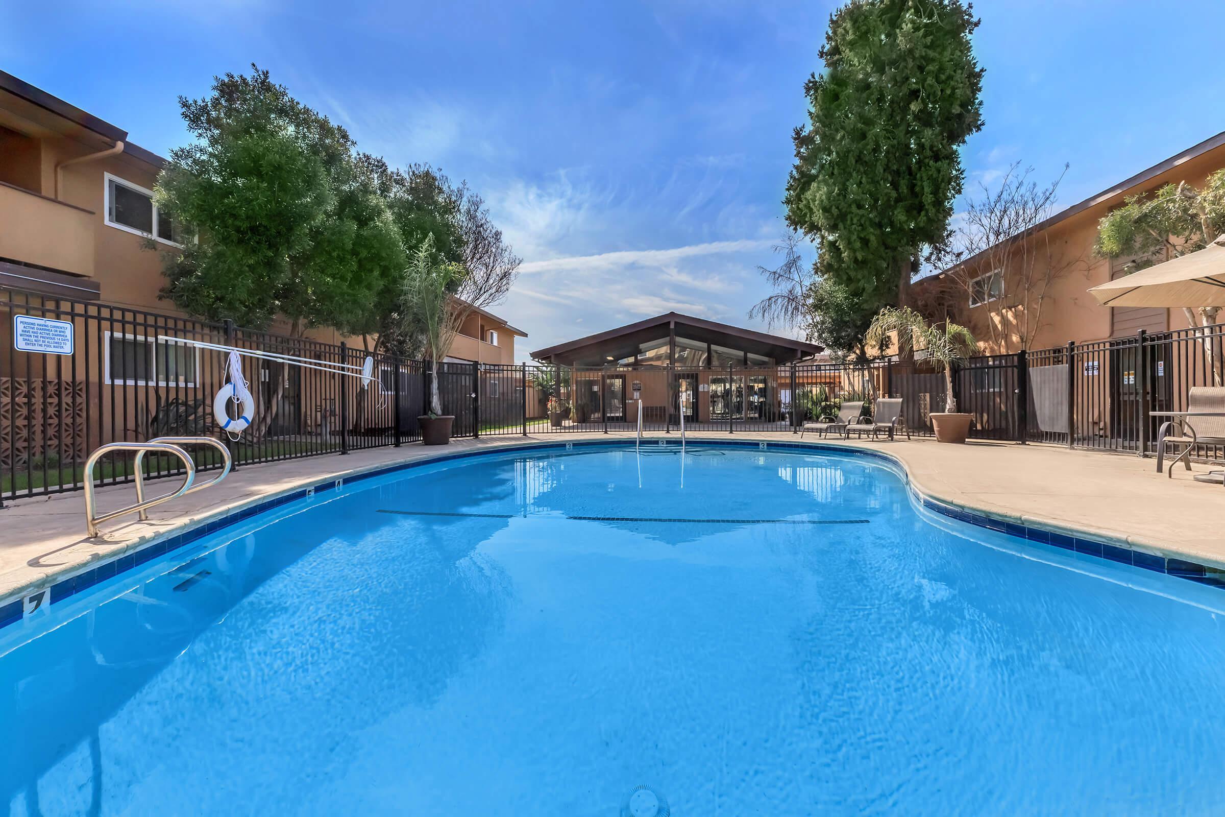 Pool at Ladera Woodsin Fremont CA