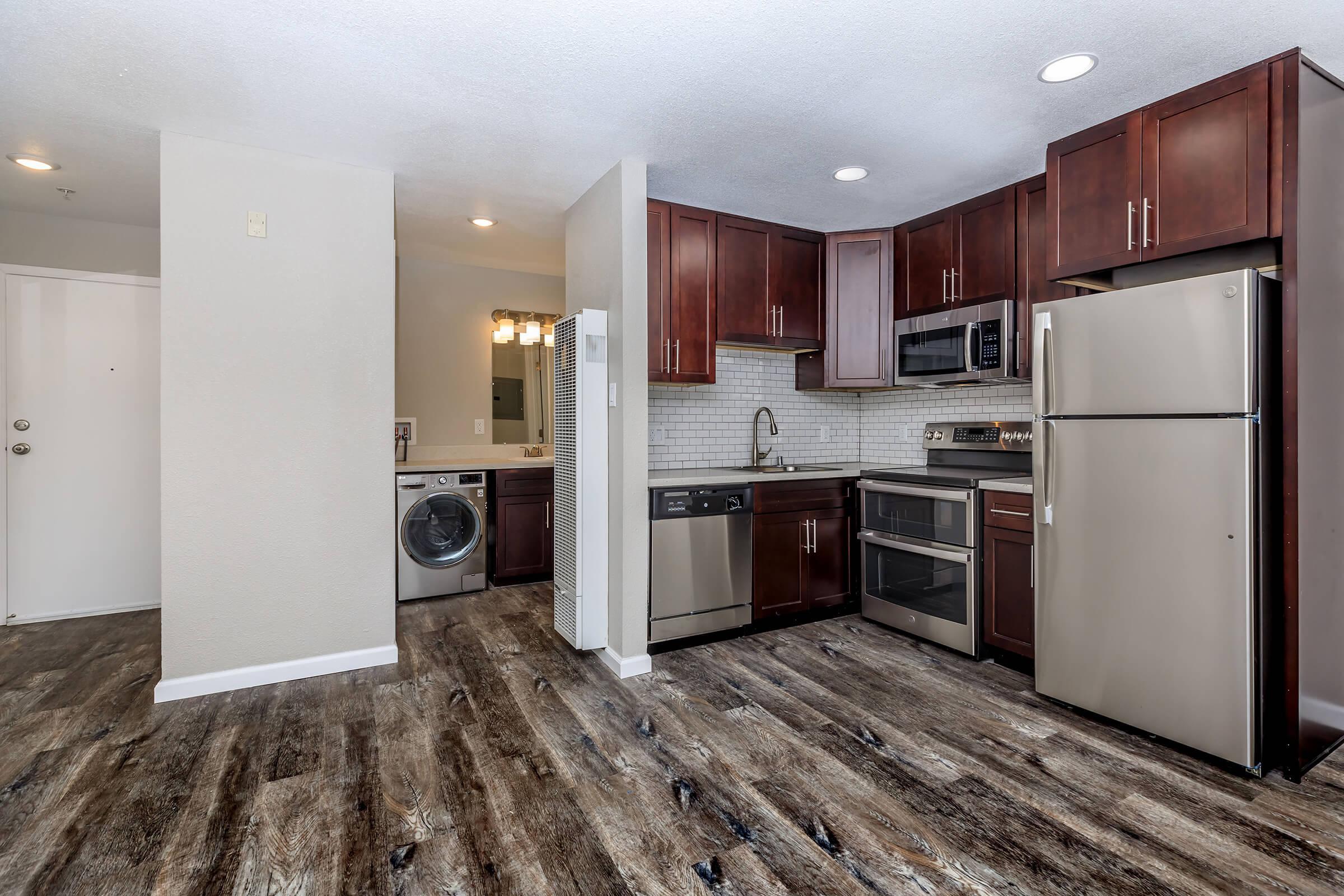 Kitchen at Ladera Woodsin Fremont CA