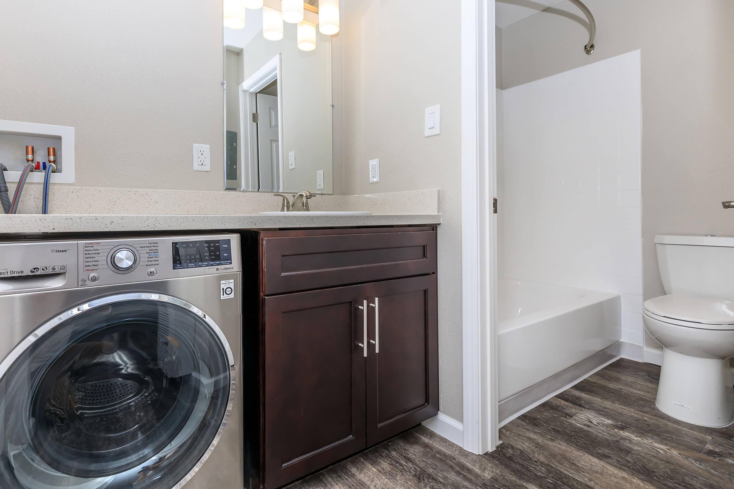 Laundry at Ladera Woodsin Fremont CA
