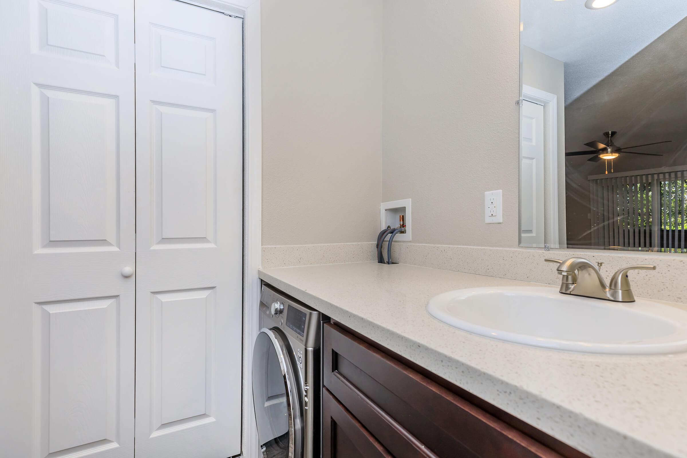 Bathroom at Ladera Woodsin Fremont CA