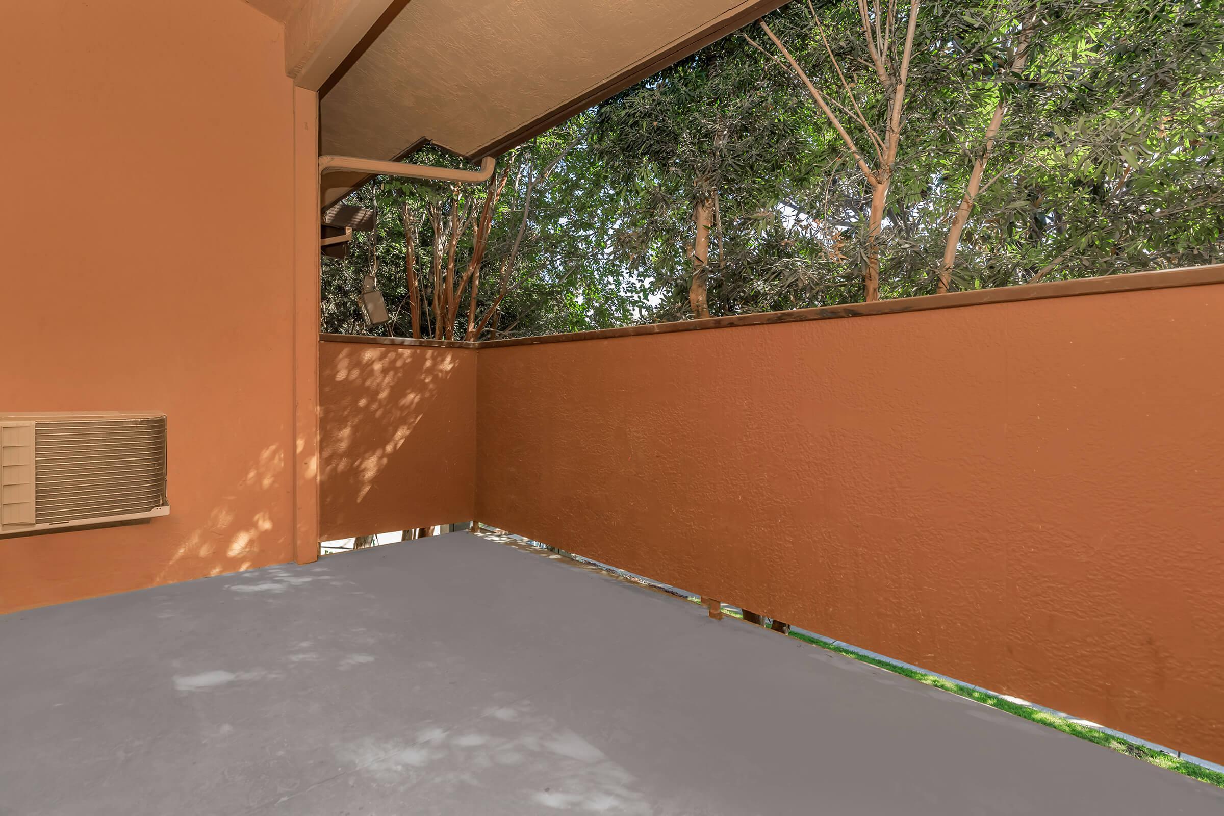 Balcony at Ladera Woodsin Fremont CA