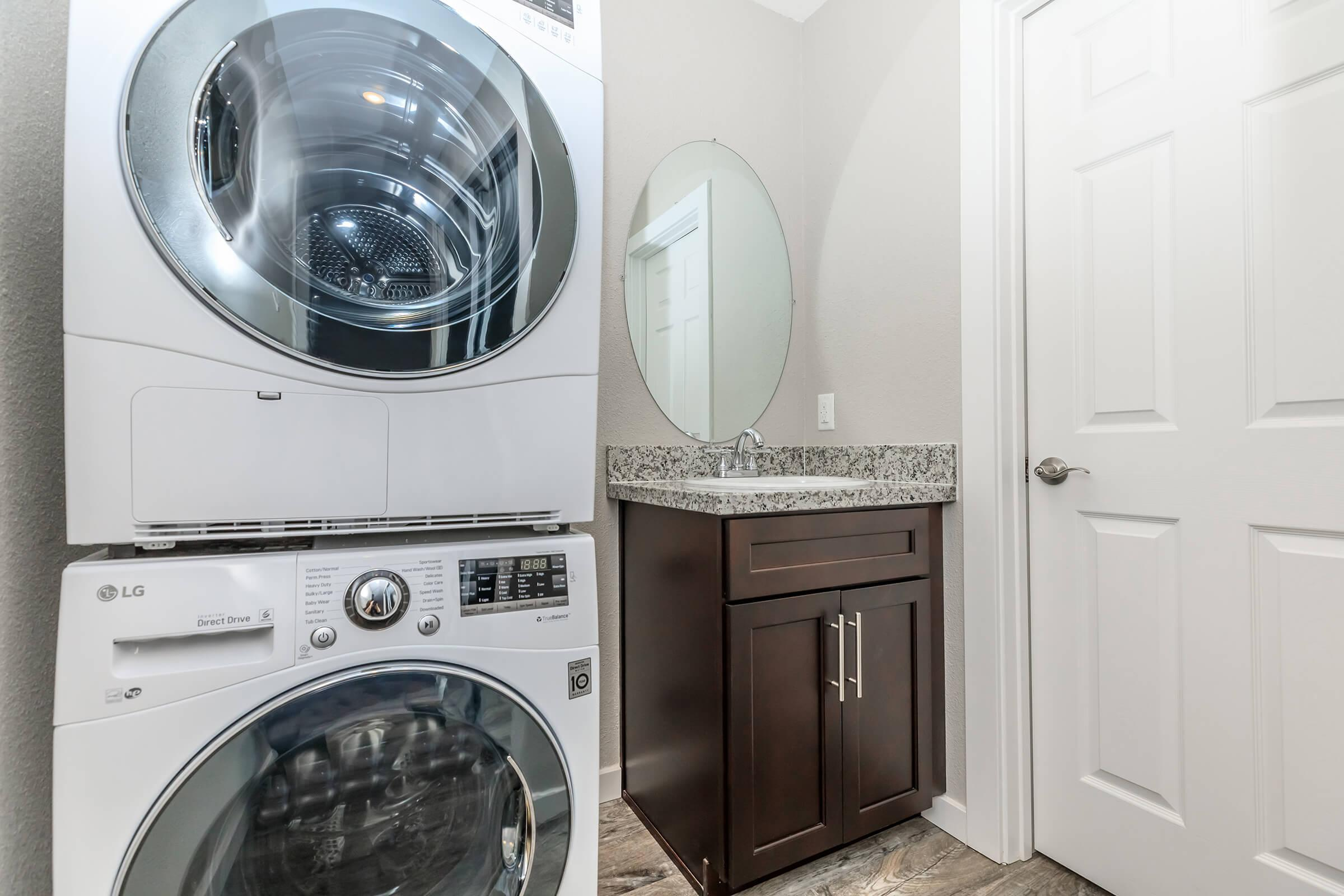 Laundry Room at Ladera Woodsin Fremont CA
