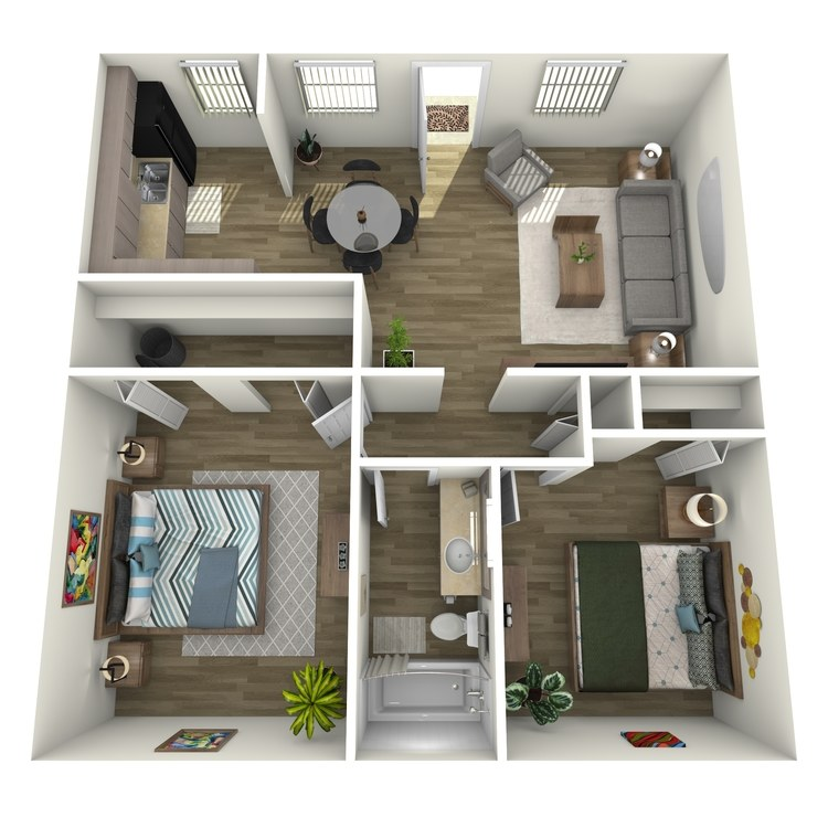 Floor plan image of The Hibiscus
