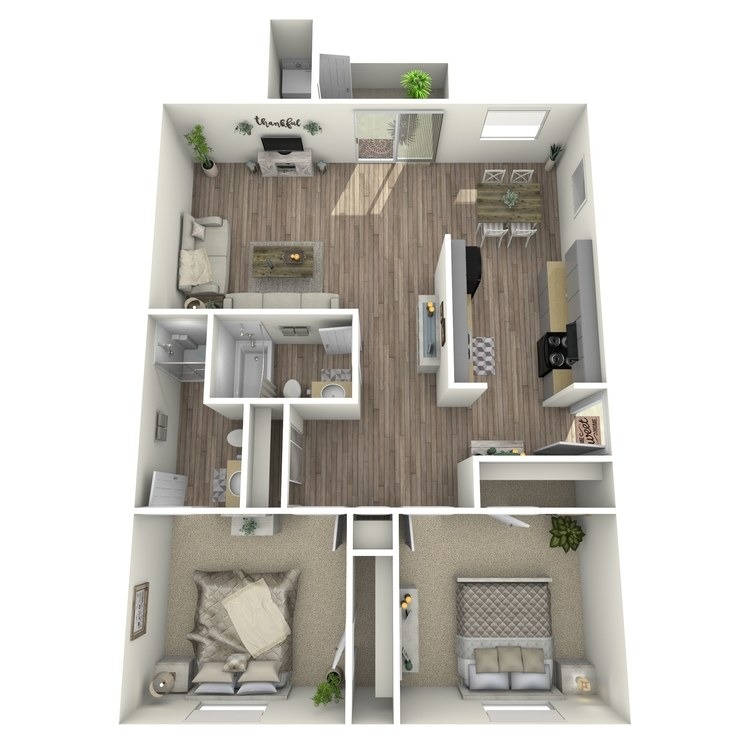 Floor plan image of La Costa