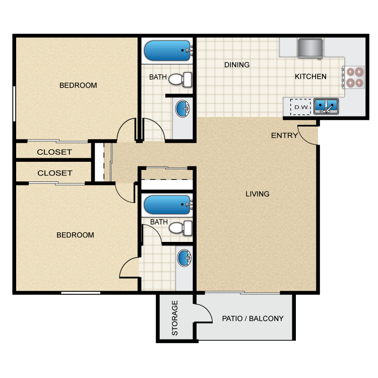 Floor plan image of Harmony