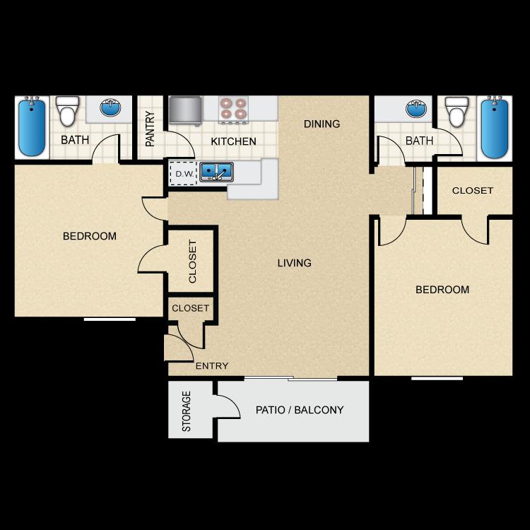 Floor plan image of Utopia